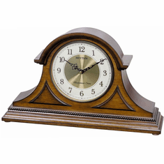 WSM Remington II Mantel Clock by Rhythm
