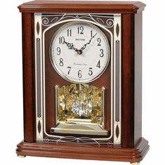 WSM Savannah Mantel Clock by Rhythm Clocks