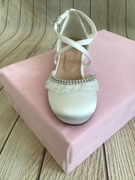 Christie-Helene-888DW-Communion/Flower Girl Shoe