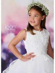 Joan Calabrese-119374- Communion Dress Also Available in Half Sizes