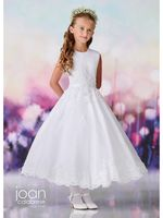 Joan Calabrese-119377 Communion Dress-Also Available in Half Sizes