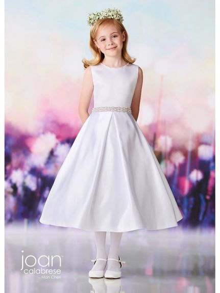 Joan Calabrese-119382 Communion Dress- Also Available in Half Sizes