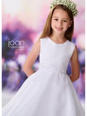 Joan-Calabrese-119397 Communion Dress Satin & Organza