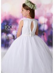 Joan Calabrese-119398 Communion Dress Satin & Tulle