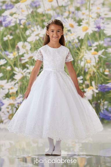 Joan-Calabrese-120354-Communion/Flower Dress-available in Half Sizes