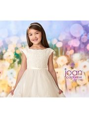 Joan Calabrese-218342 Flower Girl Dress Ivory