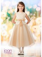 Joan Calabrese-218347 Flower Girl Dress Tulle & Lace