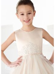 Joan Calabrese-219301- Communion/Flower Girl Dress-Lovely in white for Communion