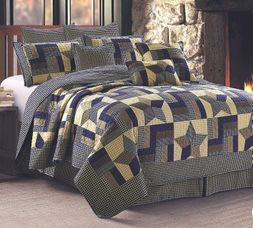 Woodland Star Cabin Quilt Set