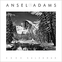 2022 ANSEL ADAMS ENGAGEMENT CALENDAR