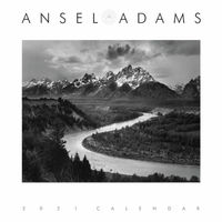 <center>ANSEL ADAMS 2021 ENGAGEMENT DESK CALENDAR<center><center>Pre-order now for August 1st ship date<center>