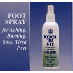 Kool N Fit Foot Spray - The Ultimate Foot Care Solution