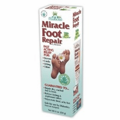 Miracle of Aloe Miracle Foot Repair Cream 8 oz. - Free Shipping