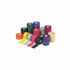 "Mueller M Tape Trainers Tape 1 1/2"" x 12 1/2 yds. - Case of 12 Assorted Colors - Free Shipping"