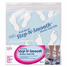 Pedifix Step and Smooth Shower Foot File - P3030 - Free Shipping