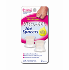 Pedifix Visco-Gel Toe Spacer - Pack of 2 - P28D - Free Shipping