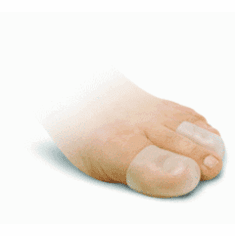 "Silipos All Gel Digital Finger or Toe Cap Small/Medium, 2.5""L, washable, reusable, 2/pkg"