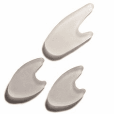Silipos Gel Toe Separators, washable, reusable, can be trimmed - Pack of 15