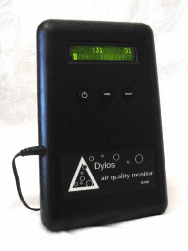 DC1100 Pro Indoor Air Quality Monitor