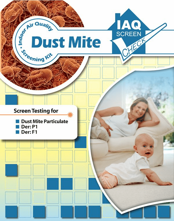 home dust mite test kit