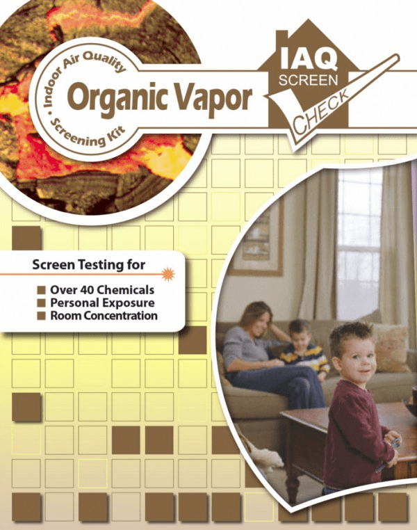 Organic Vapor Screen Check test kit