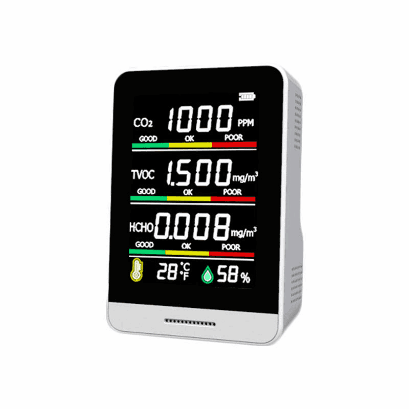 Portable Indoor Air Quality Monitor