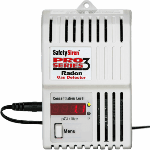 Safety Siren Pro Series 3 Radon Gas Detectors