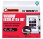 "Frost King Indoor Shrink Window Kit 42"" x 62"", Clear"