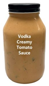 Vodka Creamy Tomato Sauce - Fresh Made (Description)