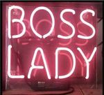 Boss Lady Neon Sign