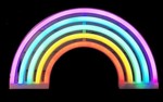 Cordless Rainbow LED Light