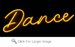 Dance FLEX-LED Sign