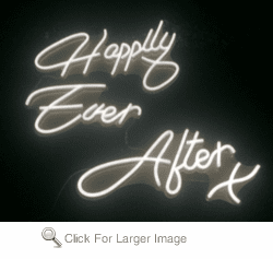 Happily Ever After FLEX-LED Sign