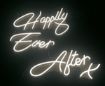 Happily Ever After LED Sign