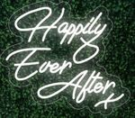 Happily Ever After X LED FLEX Sign