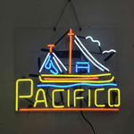 Sail Pacifico Neon Sign