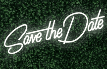 Save the Date LED-FLEX Sign