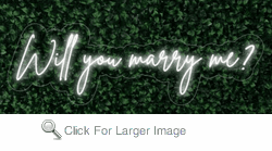 Will you marry me LED FLEX Sign