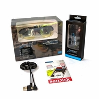 AimCam Pro 2 Camera Bundle Black