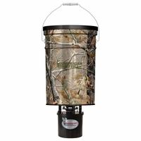 American Hunter Hanging Feeder Analog 50 lb. Capacity Realtree Camo