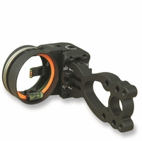 Copper John Mark I Bow Sight 3 Pin Black .019 with Light