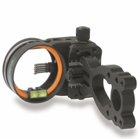 Copper John Mark I Micro Bow Sight 5 Pin Black .019 with Light