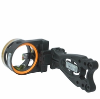 Copper John Rut Wrecker Bow Sight 5 Pin Black .019
