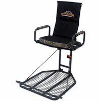 Copper Ridge Deluxe Hang On Tree Stand with Flip Up Seat