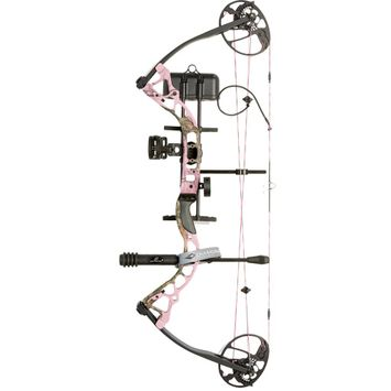 Diamond Infinite Edge Pro Compound Bow Package Pink