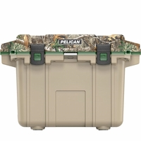 Pelican Elite Cooler Realtree Edge and Tan 50 Qt