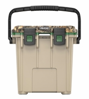 Pelican Elite Cooler Realtree Edge and Tan 20 Qt