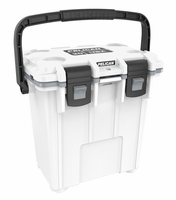 Pelican Elite Cooler White and Gray 20 Qt