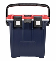 Pelican Elite Cooler Red, White and Blue 20 Qt