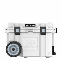 Pelican Elite Wheeled Cooler White 45 Qt